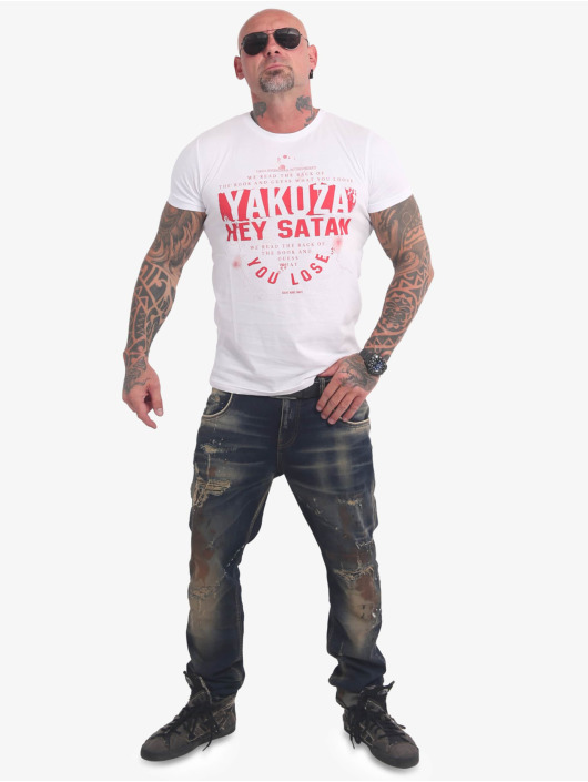 Yakuza T-Shirt Hey Satan white