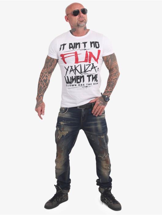 Yakuza T-Shirt No Fun white