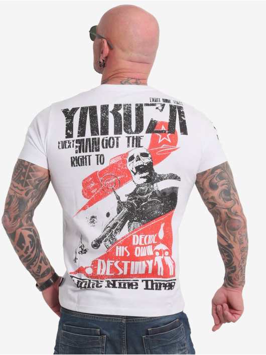 Yakuza T-Shirt Right To Decide white