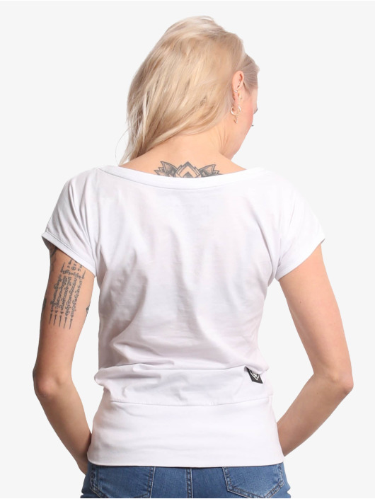 Yakuza T-Shirt Wide Crew Neck white