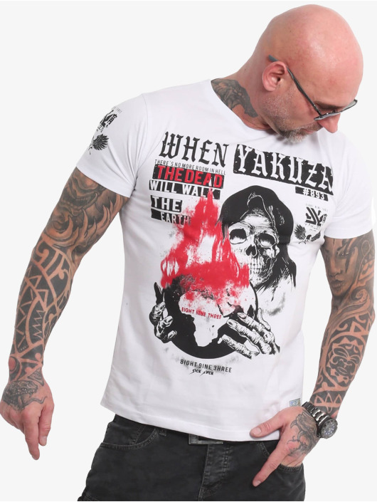 Yakuza T-Shirt Earth white