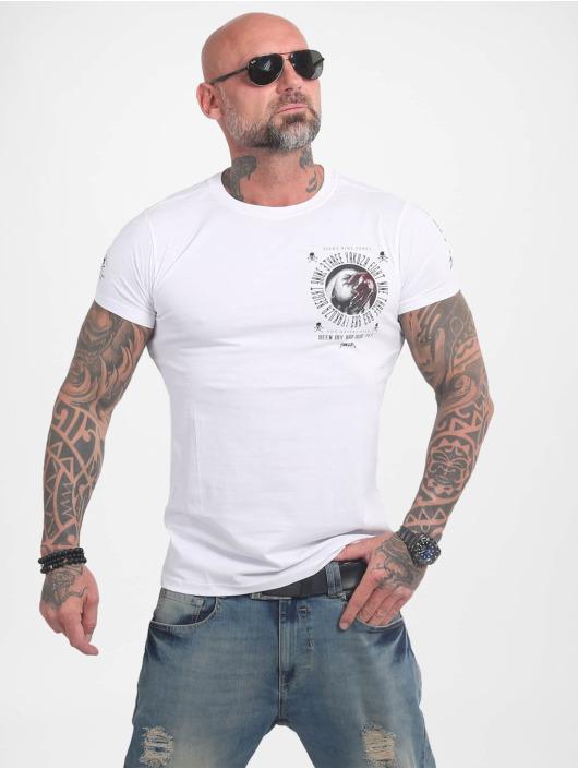 Yakuza t-shirt Bad Side wit