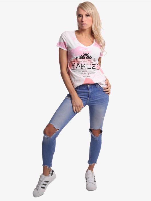 Yakuza t-shirt Spacy wit