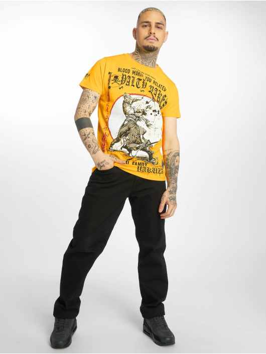 Yakuza T-Shirt Loyality yellow