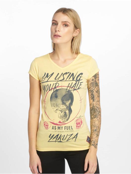 Yakuza T-Shirt Your Hate yellow