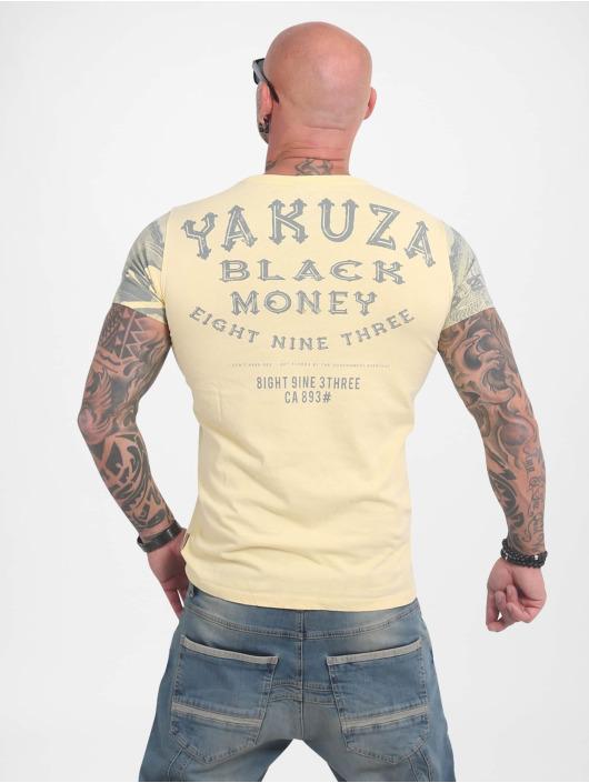 Yakuza T-Shirt Black Money yellow
