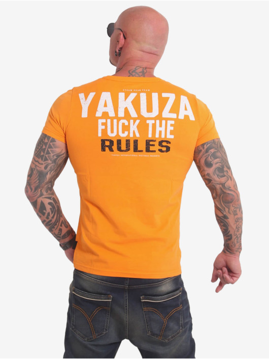 Yakuza T-Shirt Rules yellow