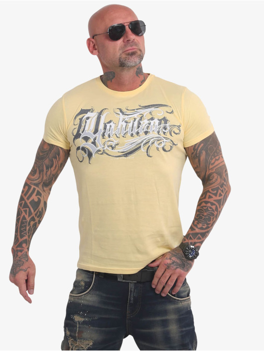 Yakuza T-Shirt Glory yellow