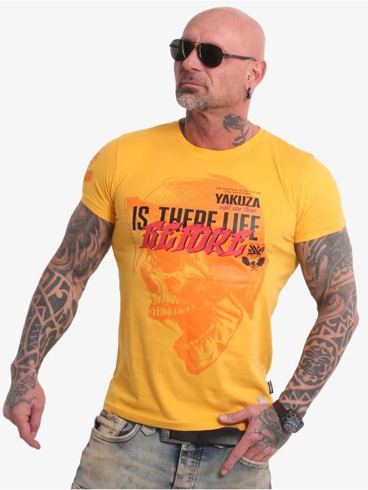 Yakuza T-Shirt Life Before yellow