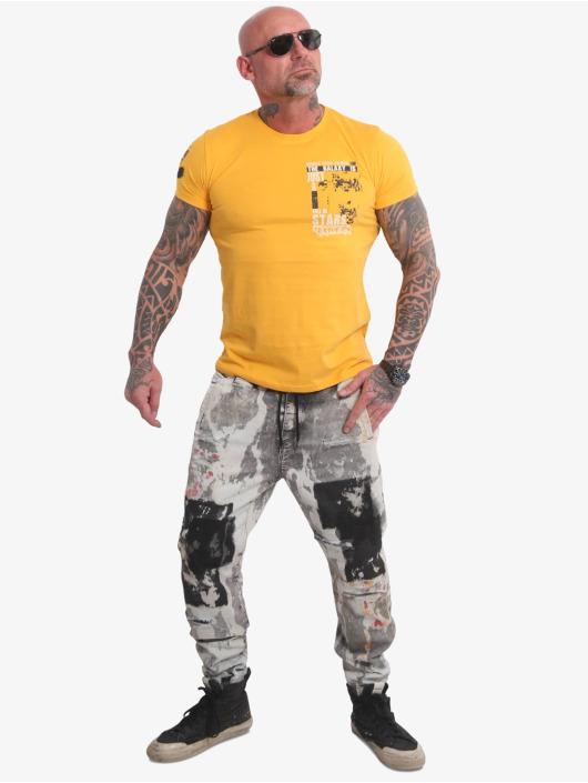 Yakuza T-Shirt Galaxy yellow