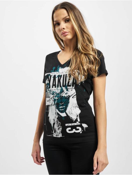Yakuza t-shirt My Knife V Neck zwart