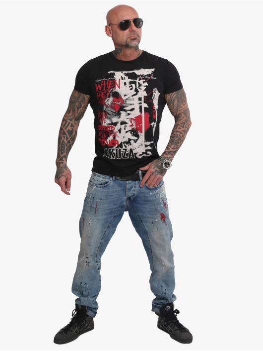 Yakuza t-shirt Run For Cover zwart