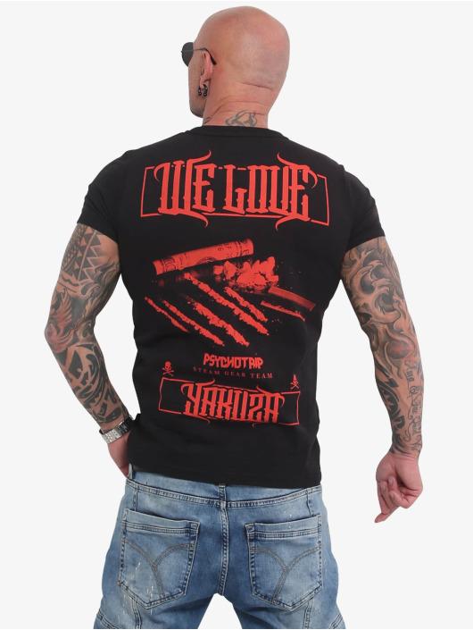 Yakuza t-shirt We Love zwart