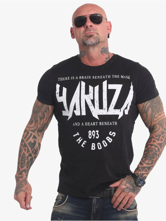 Yakuza t-shirt Boobs zwart