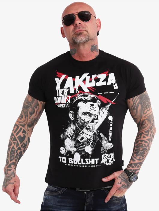 Yakuza t-shirt Stupidity zwart