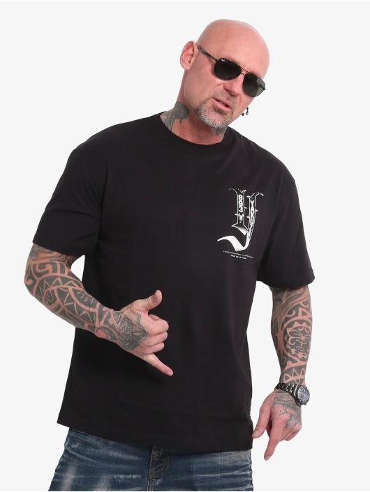 Yakuza t-shirt Cartel Oversized zwart