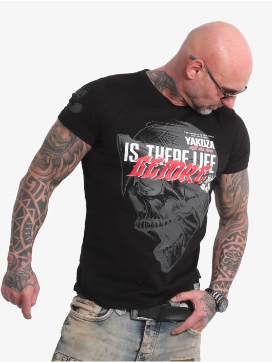 Yakuza t-shirt Life Before zwart