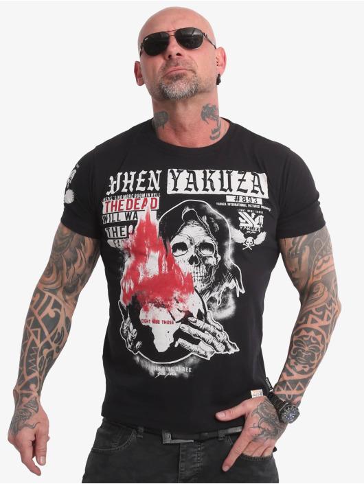 Yakuza t-shirt Earth zwart