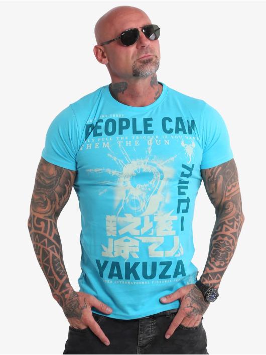 Yakuza T-shirts People blå
