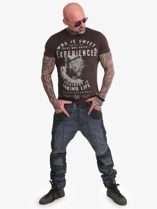 Yakuza T-shirts Sweet War brun