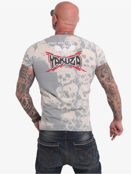 Yakuza T-shirts Killing Fields grå