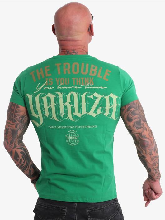 Yakuza T-shirts Fcku grøn