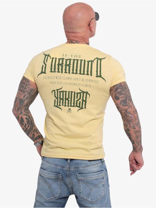 Yakuza T-shirts Surround gul