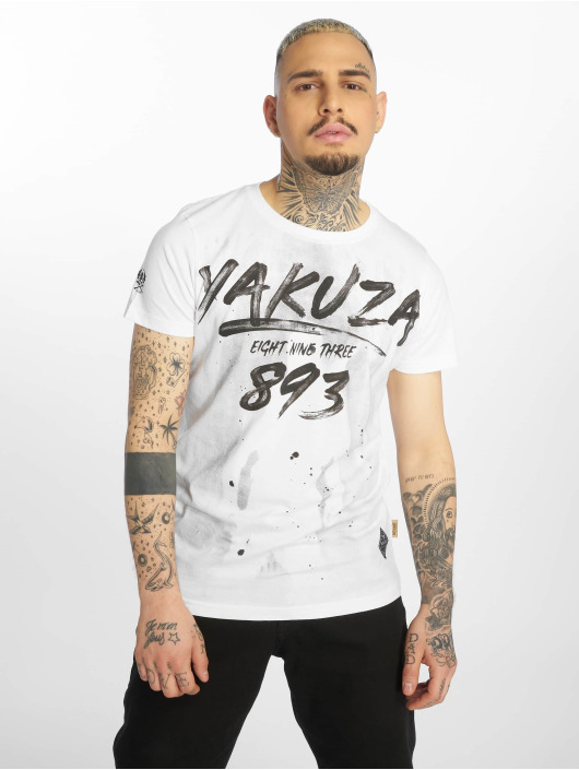 Yakuza T-shirts Lock Up hvid