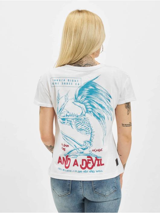 Yakuza T-shirts End Well Box Fit hvid