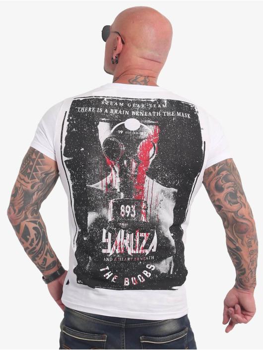 Yakuza T-shirts Boobs hvid