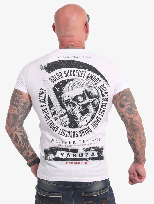 Yakuza T-shirts Neither The Sun hvid