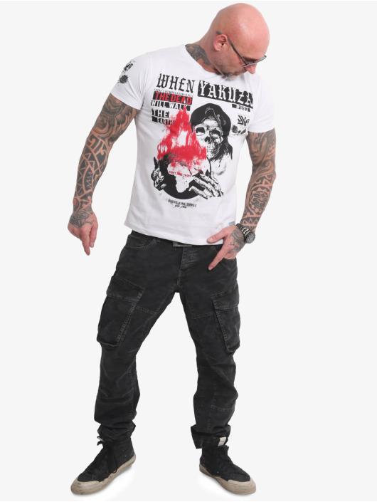 Yakuza T-shirts Earth hvid