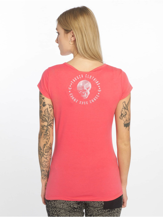 Yakuza T-shirts Your Hate pink