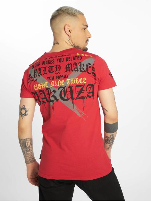 Yakuza T-shirts Loyality rød