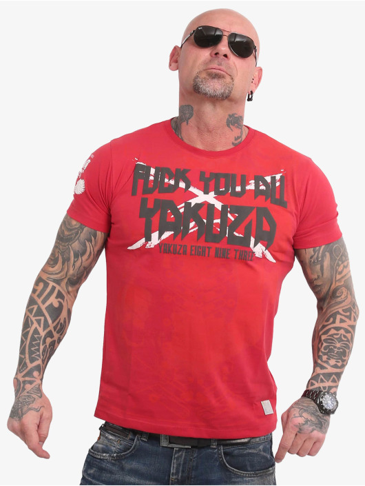 Yakuza T-shirts F.Y.A. rød
