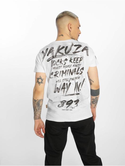 Yakuza T-Shirty Lock Up bialy