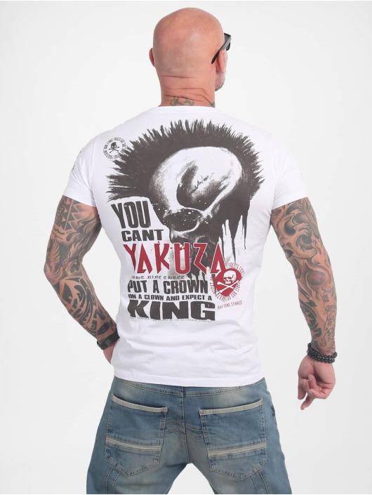 Yakuza T-Shirty Dead Punk bialy