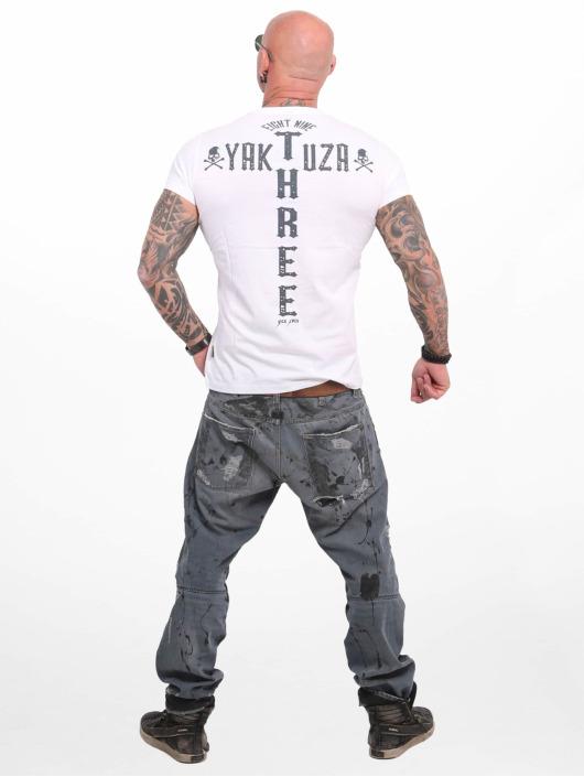 Yakuza T-Shirty Good Cock bialy