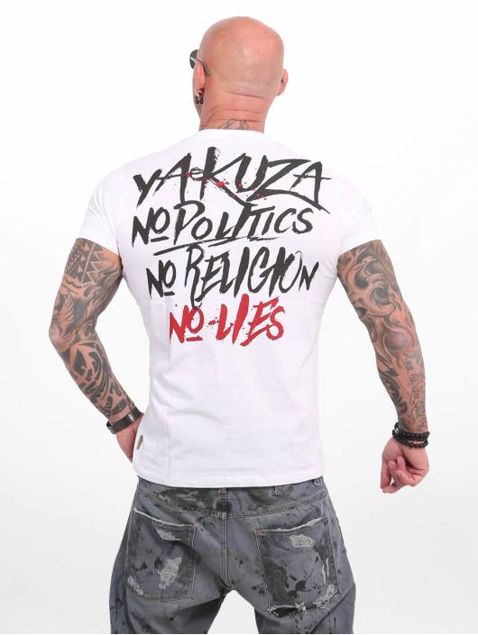 Yakuza T-Shirty No No No bialy