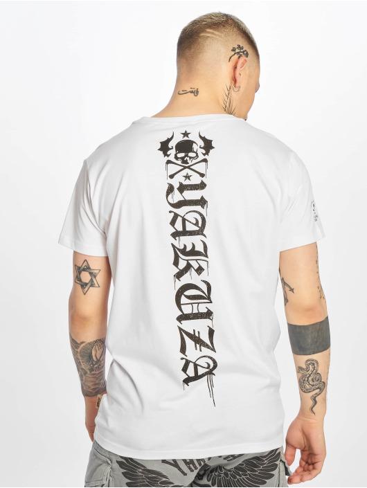 Yakuza T-Shirty Own Head bialy
