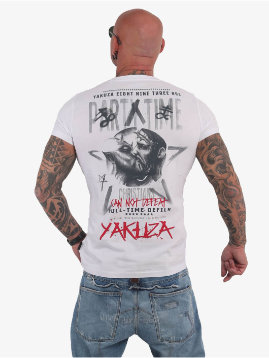 Yakuza T-Shirty Party Time bialy