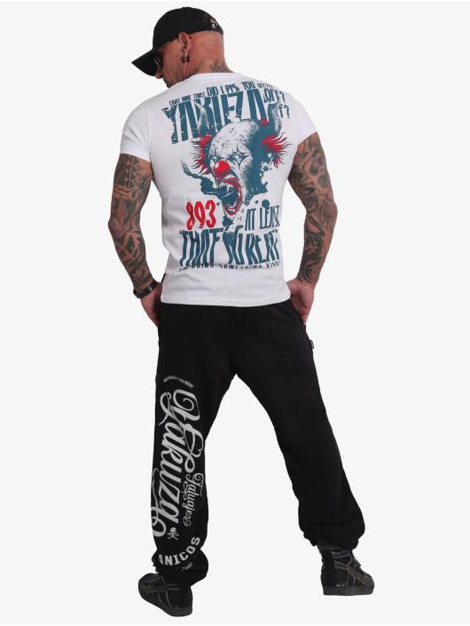 Yakuza T-Shirty Piss Off bialy