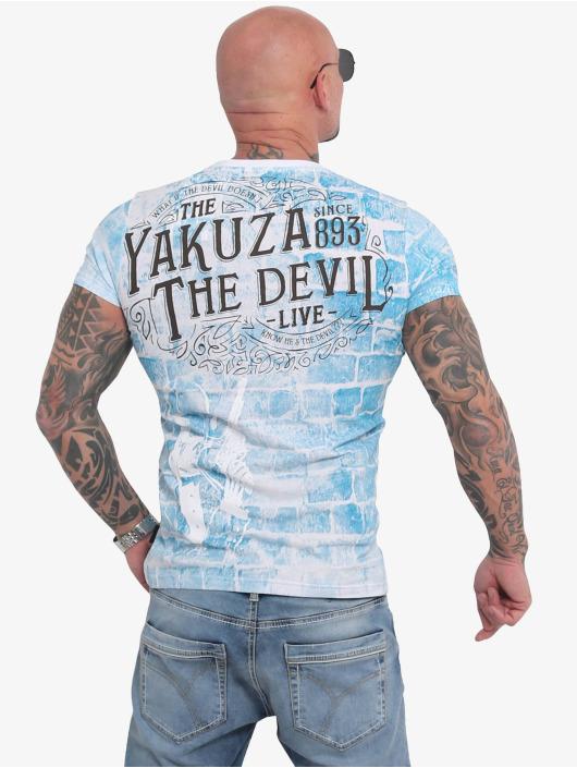 Yakuza T-Shirty The Devil bialy
