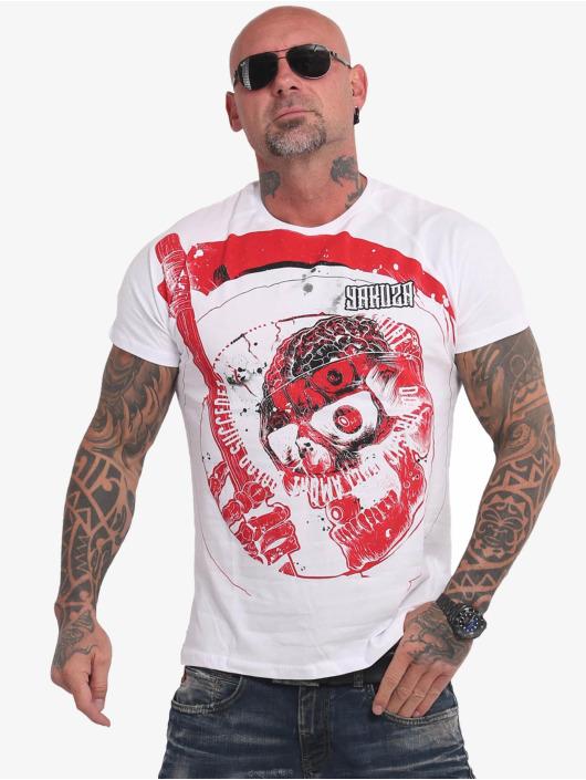 Yakuza T-Shirty Fantasize bialy