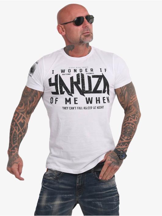 Yakuza T-Shirty Anyone bialy