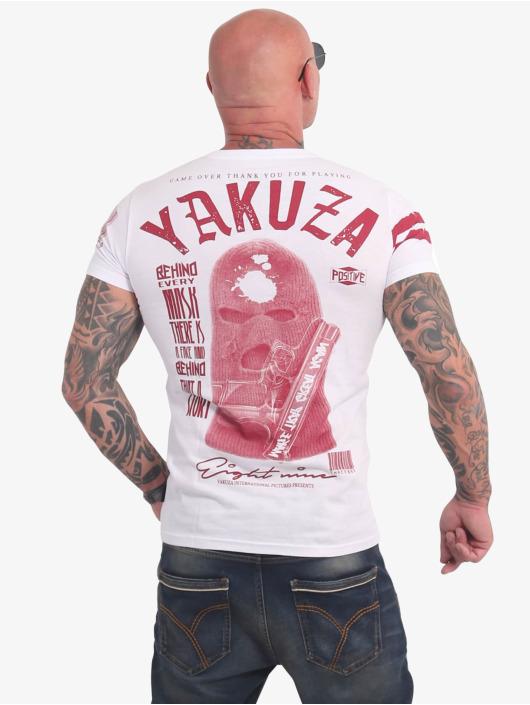 Yakuza T-Shirty Ulster bialy