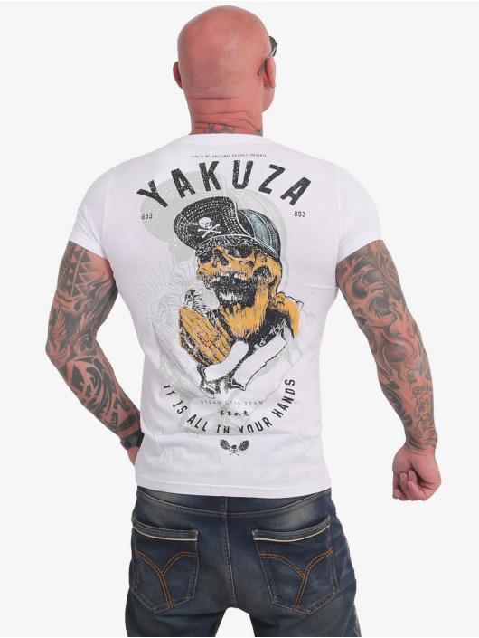 Yakuza T-Shirty Wey bialy