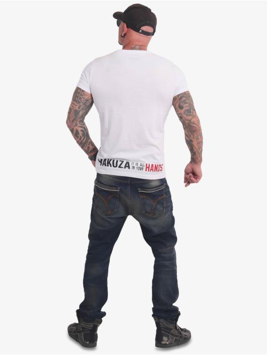 Yakuza T-Shirty Carnal bialy