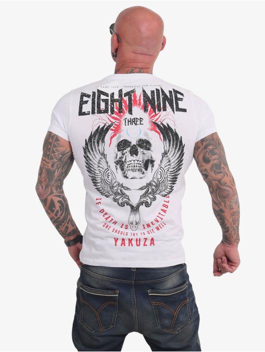 Yakuza T-Shirty Inevitable bialy