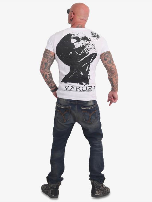 Yakuza T-Shirty Nippon Zombie bialy